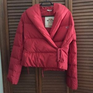 Hollister cold weather jacket